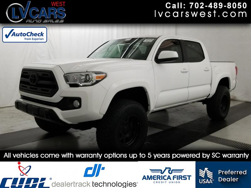 2017 Toyota Tacoma SR5 Double Cab Long Bed V6 6AT 4WD