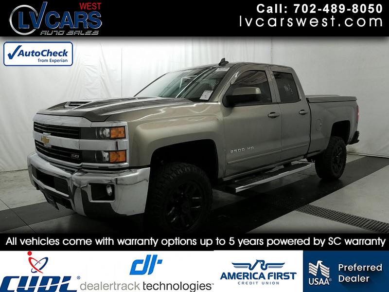 Chevrolet Silverado 2500HD LT Double Cab Long Box 4WD 2017