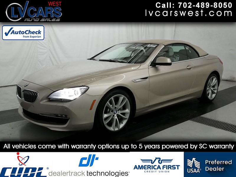 BMW 6-Series 640i Convertible 2014