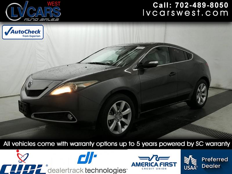 Acura ZDX 6-Spd AT w/Tech Pkg 2010