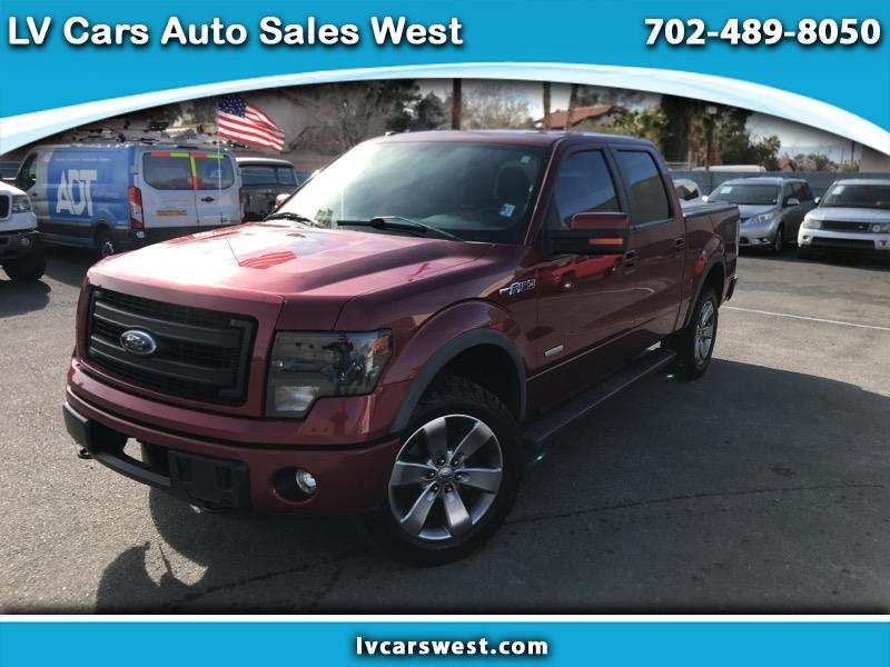 """Ford F-150 4WD Supercab Flareside 145"""" FX4 2013"""