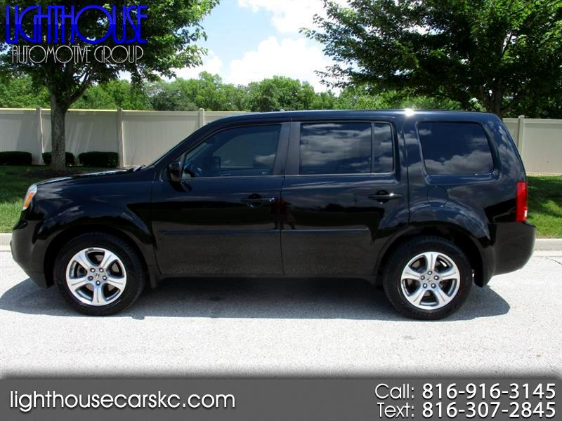 Honda Pilot EX-L 4WD 5-Spd AT with Navigation 2013