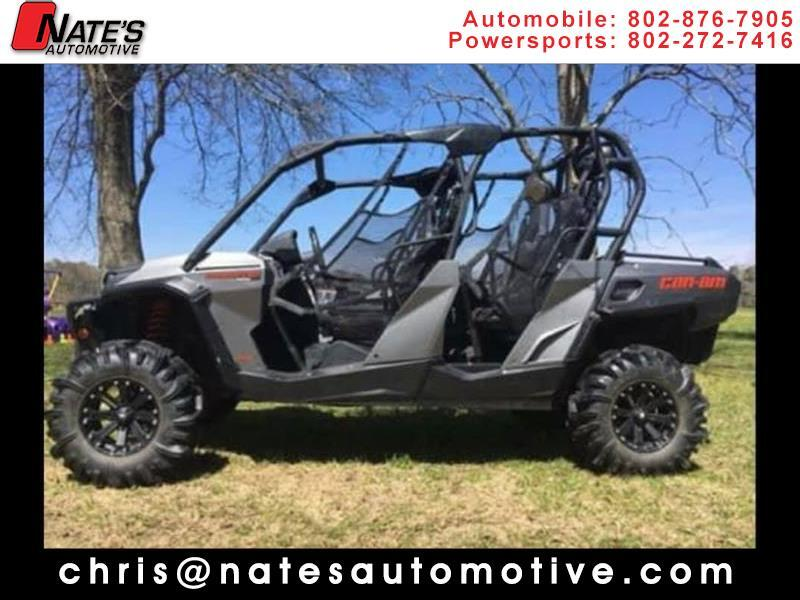 2015 Can-Am Commander 1000 XT 4 seater max