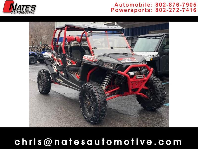 2016 Polaris RZR 1000 XP 4 SEATER HIGH LIFTER