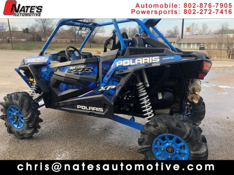 2017 Polaris RZR XP 1000 EPS HIGH LIFTER EPS