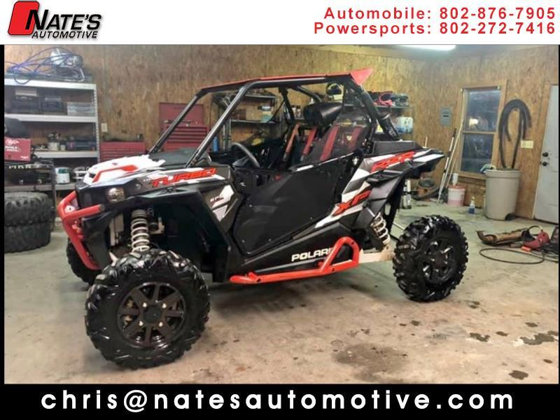 2016 Polaris RZR XP Turbo EPS TURBO