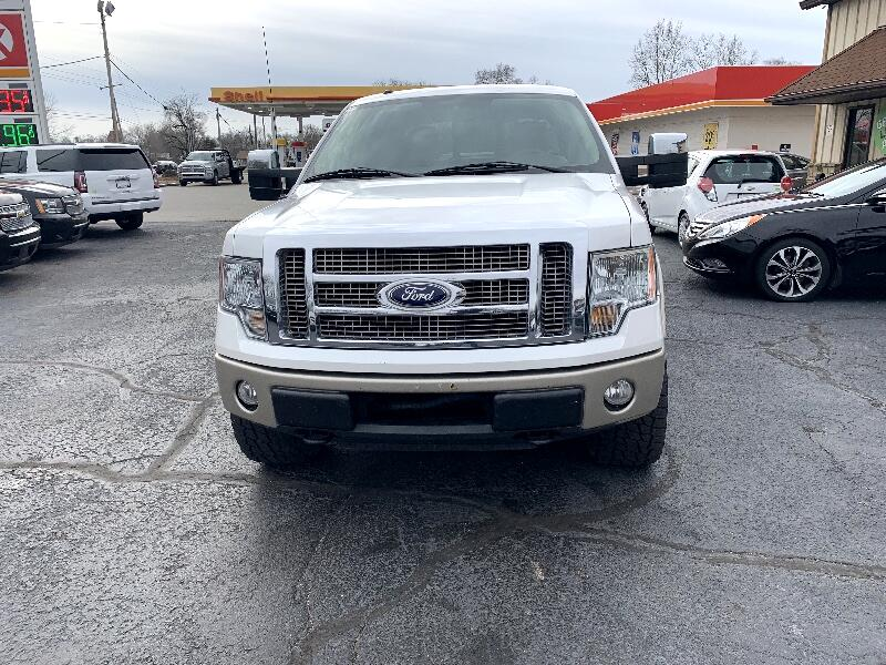 """Ford F-150 4WD SuperCrew 145"""" King Ranch 2010"""