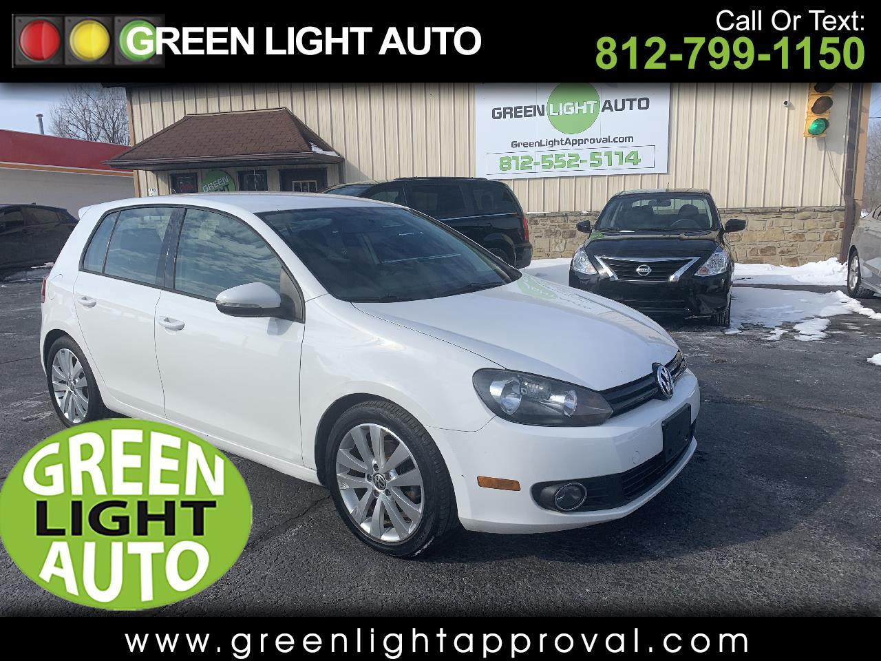 Volkswagen Golf 2.0L TDI w/Tech Package 4 Door 2013