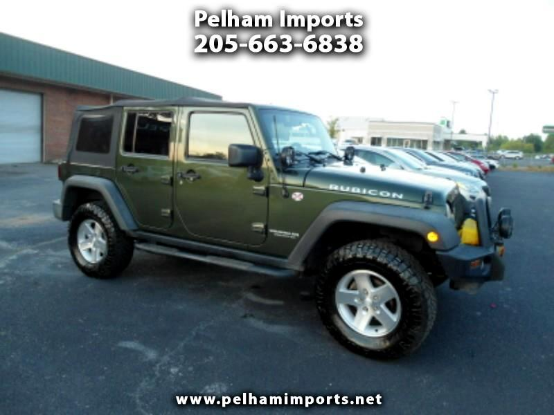 2007 Jeep Wrangler 4WD 4dr Unlimited Rubicon