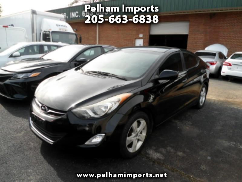Hyundai Elantra 4dr Sdn Auto GLS (Alabama Plant) 2012