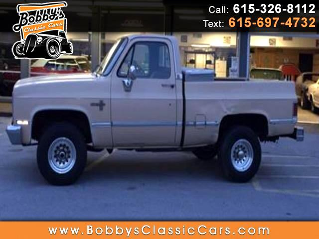 1987 Chevrolet V10 Regular Cab 4WD