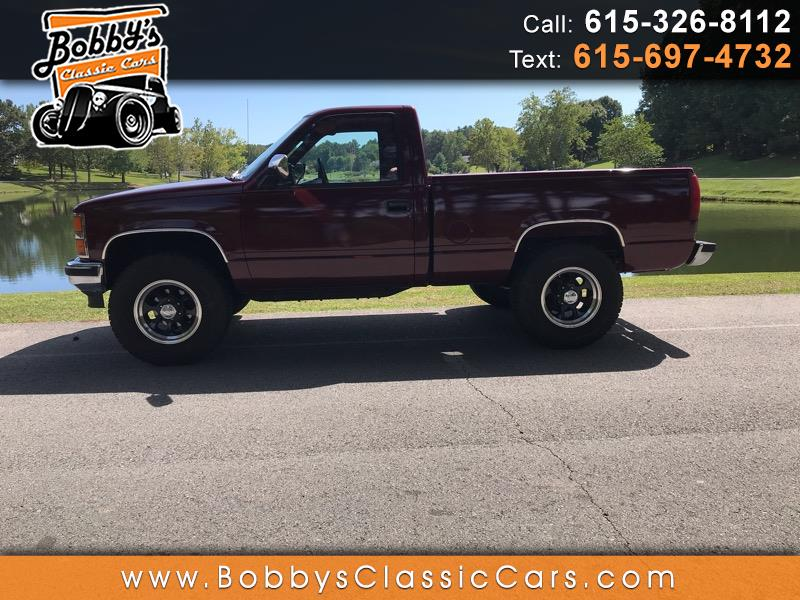 1989 Chevrolet C/K 1500 Reg. Cab 6.5-ft. Bed 4WD