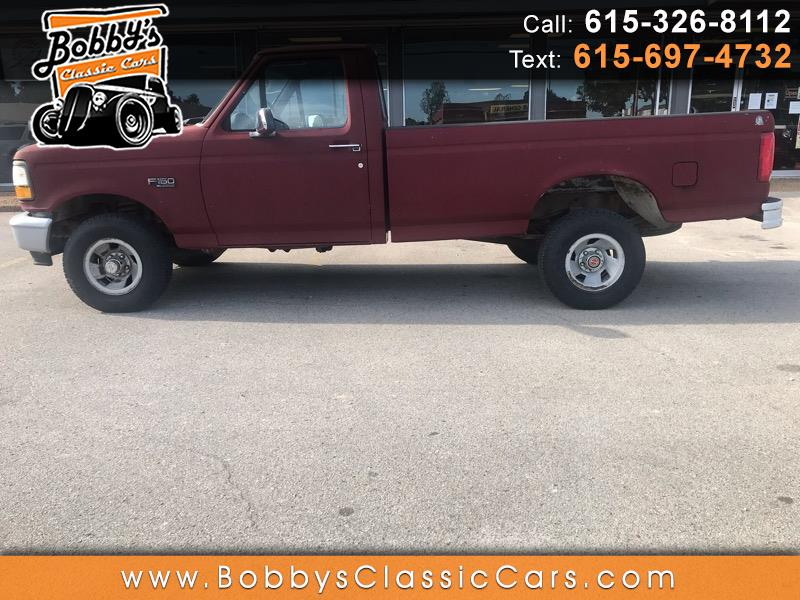 1993 Ford F-150 S Reg. Cab Long Bed 4WD