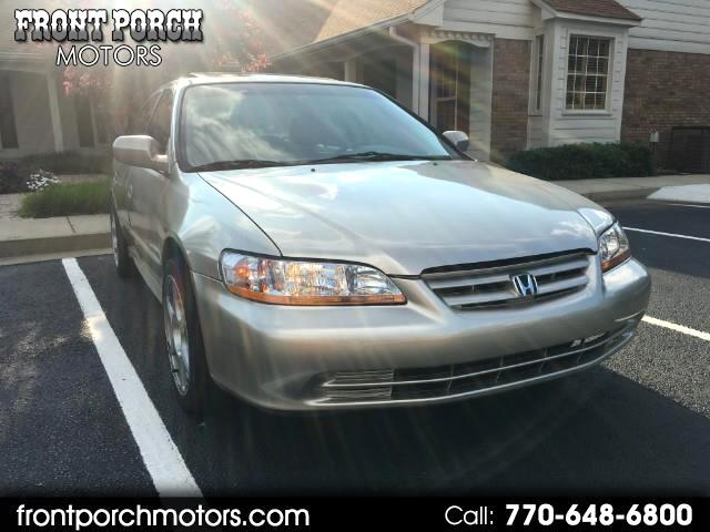 2002 Honda Accord EX V6 sedan