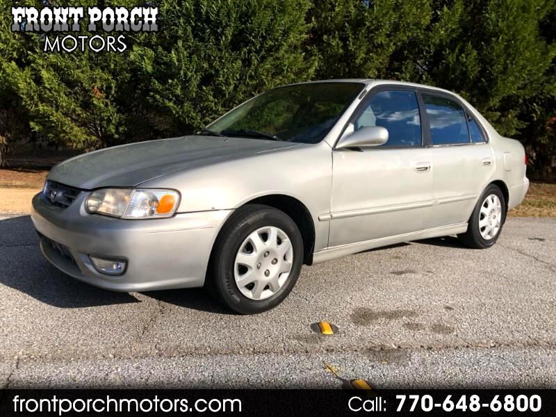 2001 Toyota COROLLA/S/