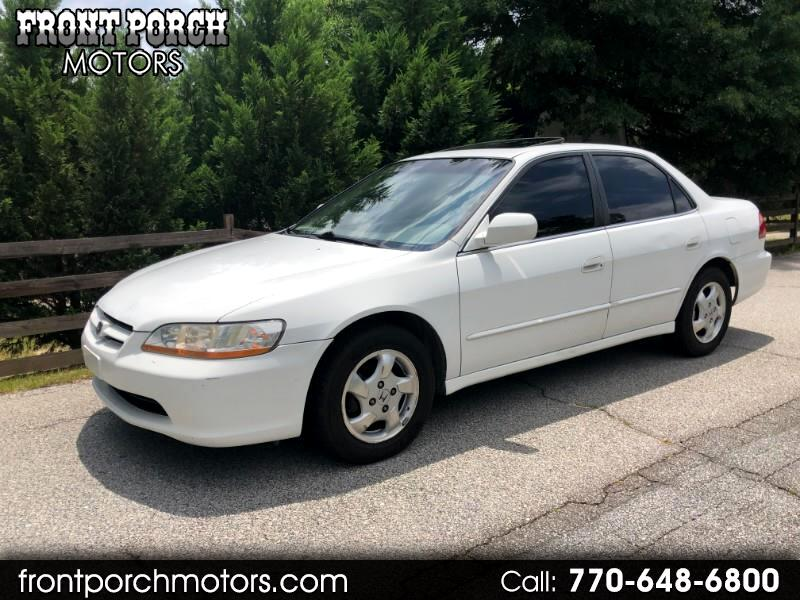 2000 Honda Accord EX Sedan with Leather