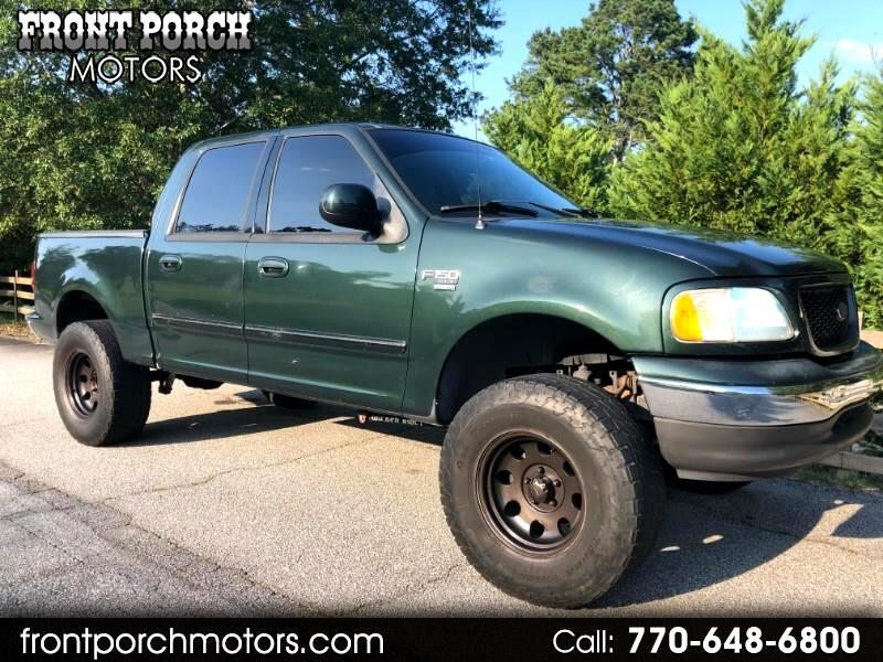 "2003 Ford F-150 2WD SuperCrew 150"" Lariat"