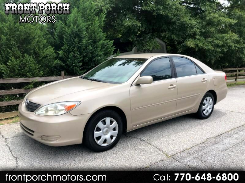 2002 Toyota Camry 4dr Sdn LE Auto