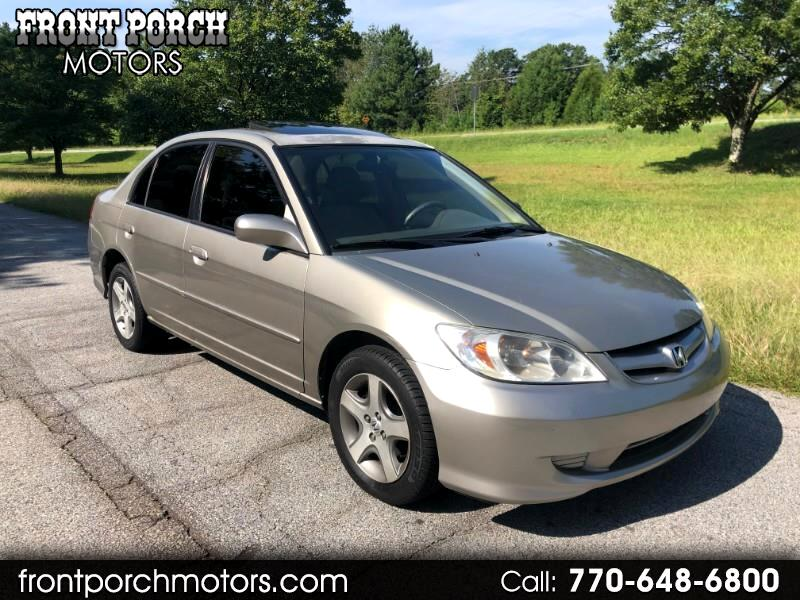 2004 Honda Civic EX sedan AT