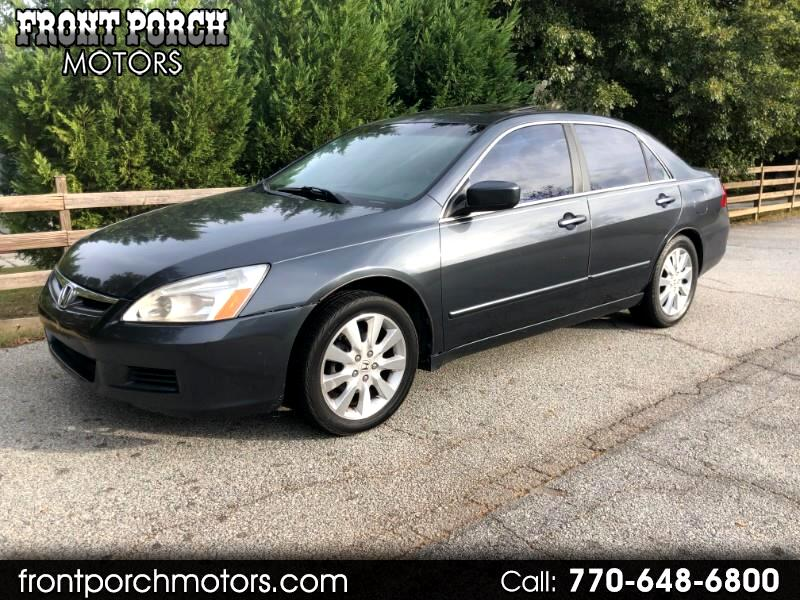 2007 Honda Accord Ex L >> Used 2007 Honda Accord Ex L V 6 Sedan At For Sale In Conyers