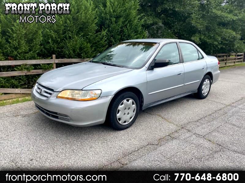 Honda Accord Value Package Sedan 2002