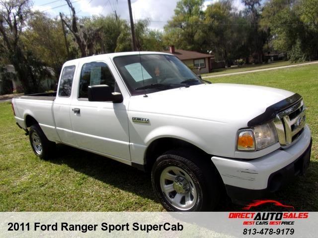 2011 Ford Ranger Sport SuperCab 2WD