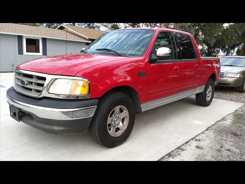 Ford F-150 XLT SuperCrew Short Bed 2WD 2002