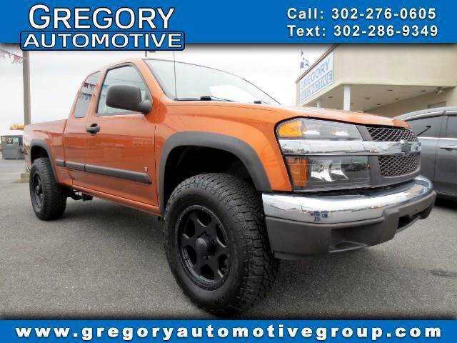 "2007 Chevrolet Colorado 4WD Ext Cab 125.9"" Work Truck"