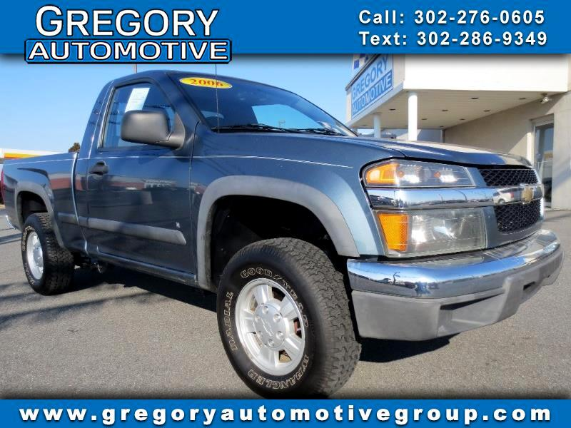 2006 Chevrolet Colorado Reg Cab 111.2