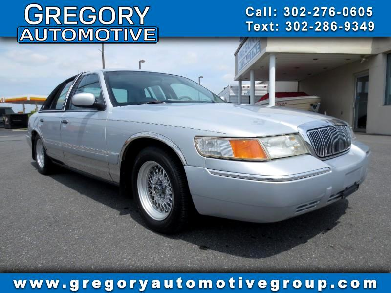 2000 Mercury Grand Marquis 4dr Sdn GS