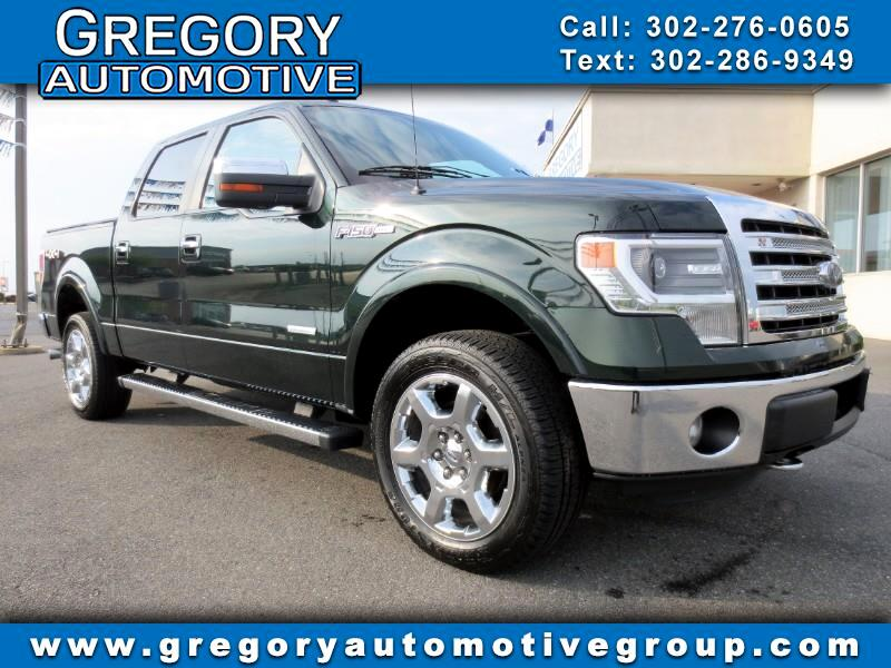 "2013 Ford F-150 4WD SuperCrew 145"" Lariat"