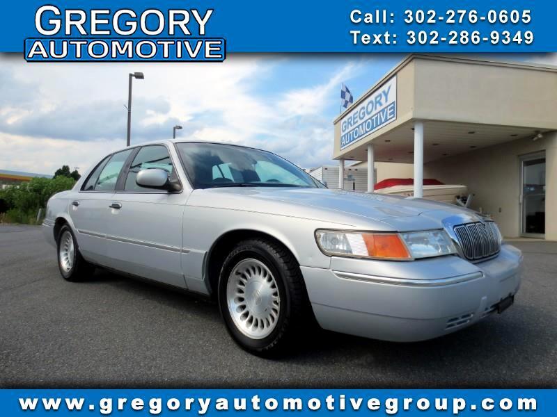 2002 Mercury Grand Marquis 4dr Sdn LS Premium