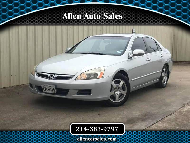 2006 Honda Accord Hybrid V6 5-Speed AT