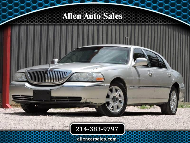 Lincoln Town Car Executive L 2010