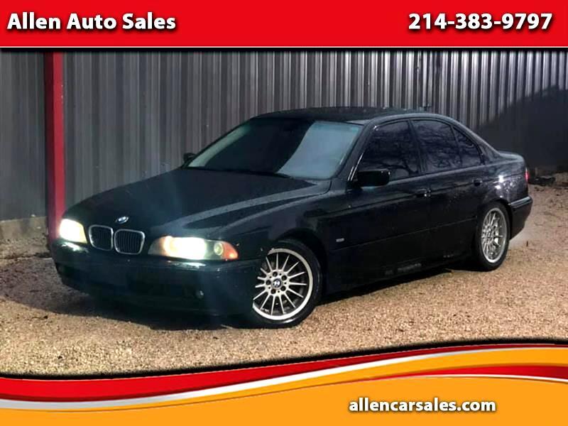 BMW 5-Series 540i 2001