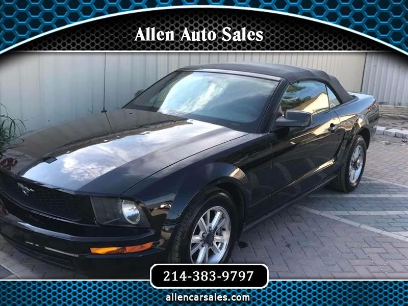 Ford Mustang V6 Deluxe Convertible 2008