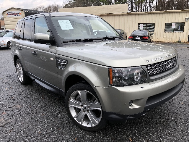 2010 Land Rover Range Rover Sport SUPER CHARGED