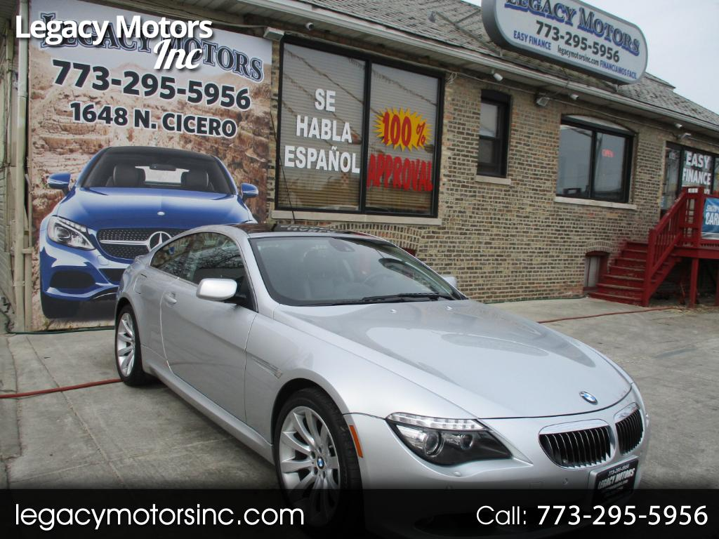2008 BMW 6 Series 2dr Cpe 650i