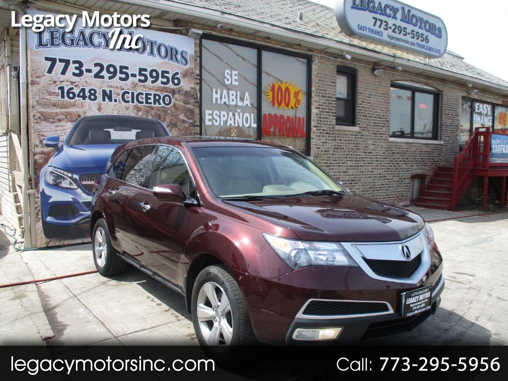 2010 Acura MDX AWD 4dr Technology/Entertainment Pkg