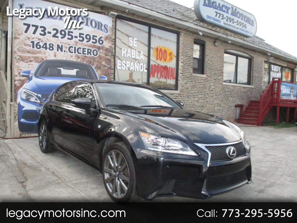 2013 Lexus GS 350 4dr Sdn Crafted Line AWD