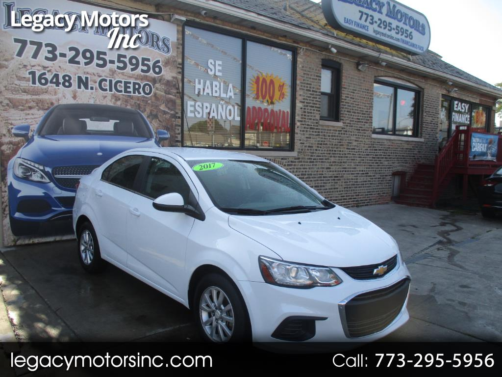 2017 Chevrolet Sonic 4dr Sdn Auto LT