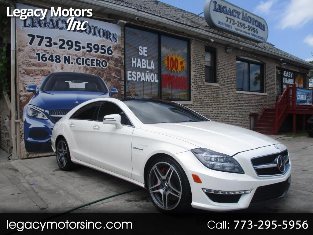 2013 Mercedes-Benz CLS-Class 4dr Sdn CLS 63 AMG RWD