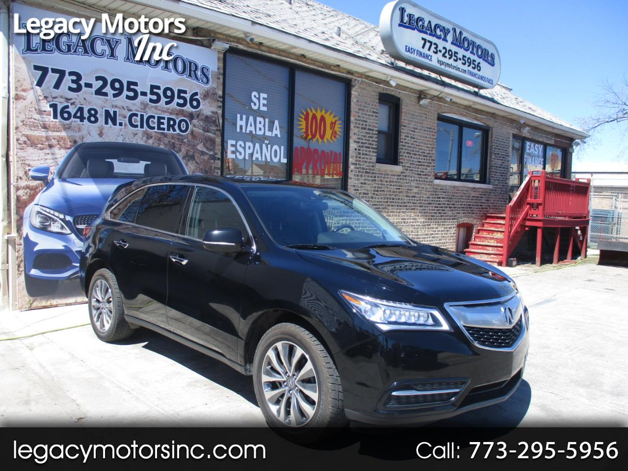 2014 Acura MDX SH-AWD 4dr Tech/Entertainment Pkg
