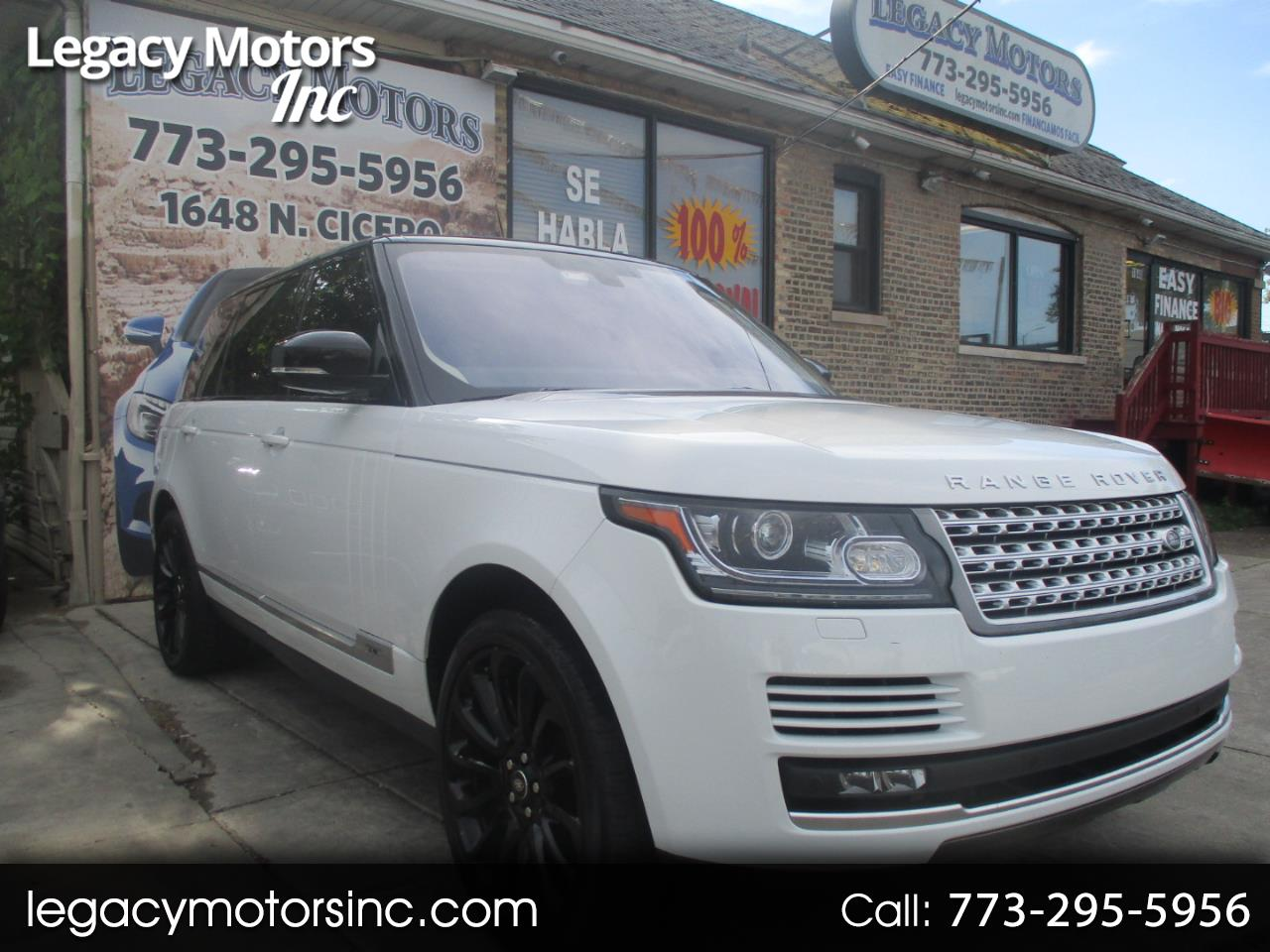 Land Rover Range Rover 4WD 4dr Supercharged LWB 2016