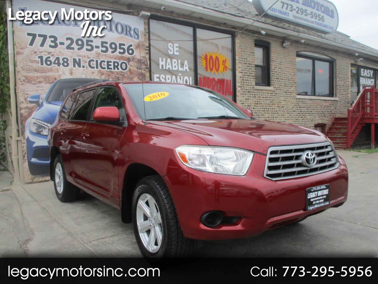 Toyota Highlander FWD 4dr L4  Base (Natl) 2010