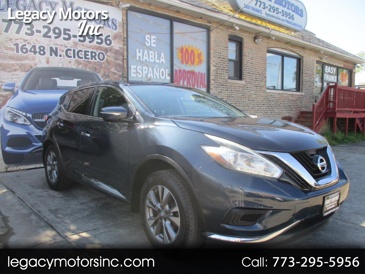 Nissan Murano FWD 4dr S 2015