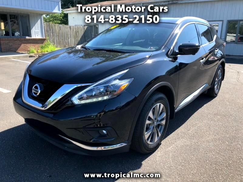 Nissan Erie Pa >> Used 2018 Nissan Murano For Sale In Erie Pa 16505 Tropical