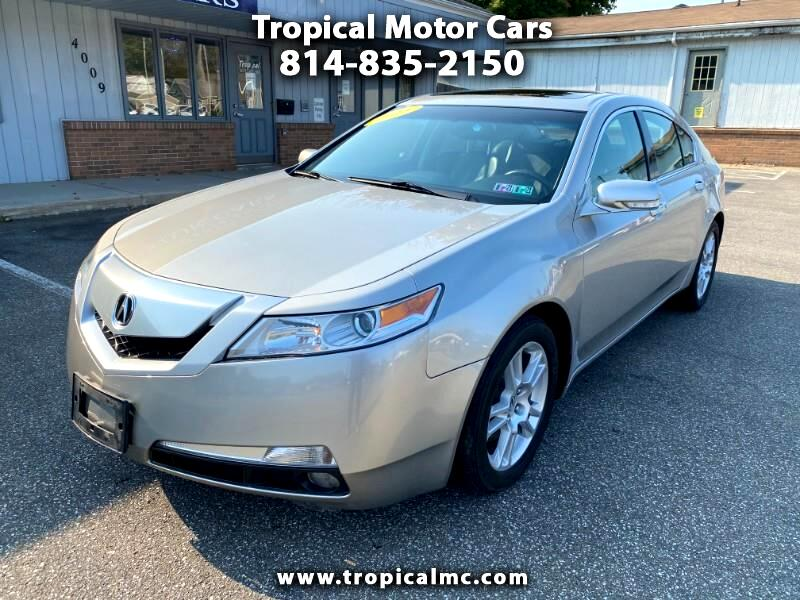 Acura TL 5-Speed AT with Tech Package 2011