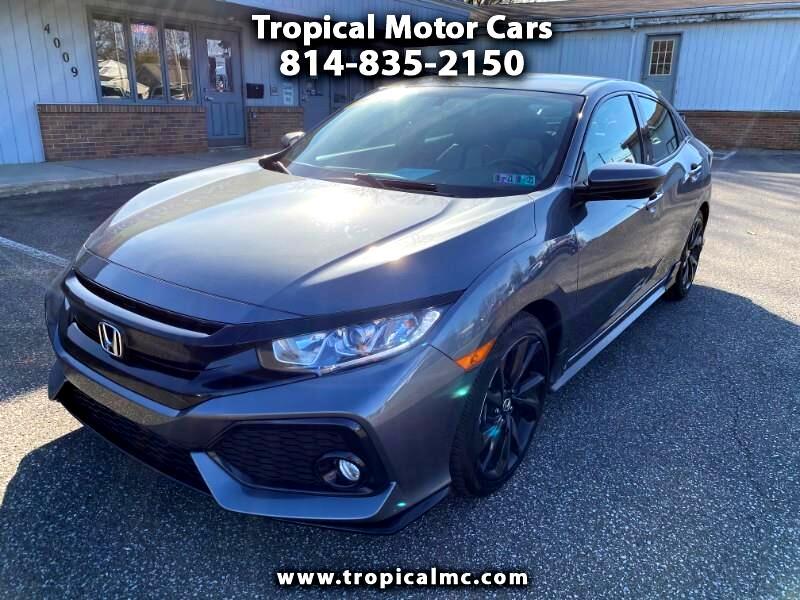 Honda Civic Sport 6M 2018