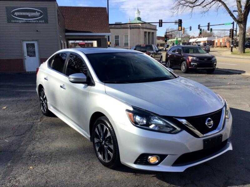 Nissan Sentra SR TURBO CVT 2017